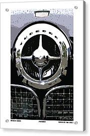 Studebaker American Chrome Acrylic Print