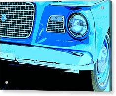 Studebaker Acrylic Print by Elizabeth Budd