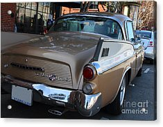 Studebaker Golden Hawk . 7d14182 Acrylic Print by Wingsdomain Art and Photography