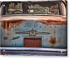 Studebaker Acrylic Print by Richard Steinberger