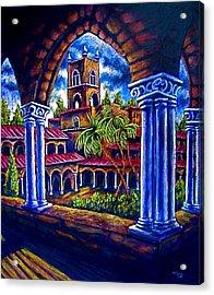 Studies Abroad Acrylic Print