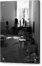 Studio Of An Artist 1 Acrylic Print