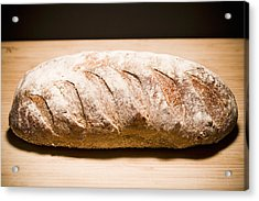 Studio Shot Of Loaf Of Bread Acrylic Print by Kristin Lee