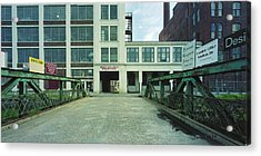 Studios For Rent Acrylic Print by Jan W Faul