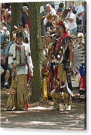 Subchiefs At Pow Wow Acrylic Print