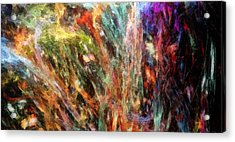 Substancial-a Acrylic Print by RochVanh