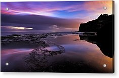 Subtleties Of First Light Acrylic Print