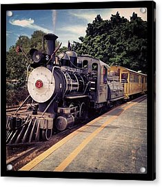 Sugar Cane Train Acrylic Print