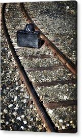 Suitcase And Hats Acrylic Print by Joana Kruse