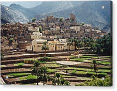 Sultanat D'oman Acrylic Print by Micheline Canal