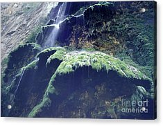 Sumidero Canyon Waterfall Chiapas Mexico Acrylic Print