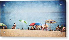 Summer By The Sea Acrylic Print by Mary Machare