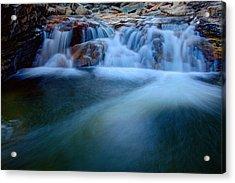 Summer Cascade Acrylic Print by Chad Dutson
