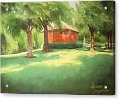 Summer Day Acrylic Print by Diane Ferguson