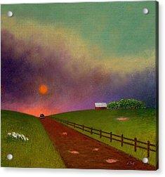 Summer Dustup Acrylic Print by Gordon Beck