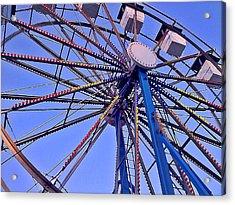 Summer Festival Ferris Wheel Acrylic Print