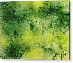 Summer Greenery Acrylic Print