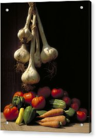 Summer Harvest Acrylic Print by Garry McMichael