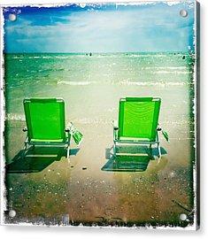 Summer Heaven Acrylic Print