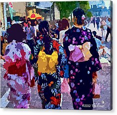 Summer In Japan Acrylic Print