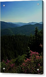 Summer In The Mountains Acrylic Print