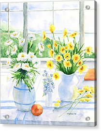 Summer Light Acrylic Print by Susan Mahoney