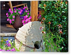 Summer Millstone Acrylic Print by Jan Amiss Photography