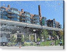Summer Rain Acrylic Print by