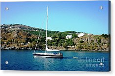 Summer Sailing Acrylic Print by Therese Alcorn
