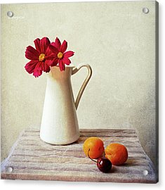Summer Still Life Acrylic Print by by MargoLuc