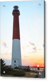 Summer Sunset At Old Barnie  Acrylic Print by George Oze