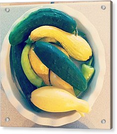 Summer Veggies Acrylic Print