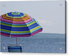 Summertime Acrylic Print by Amy Holmes