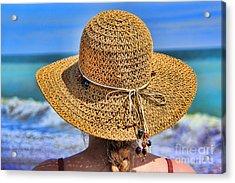 Summertime Acrylic Print by Mariola Bitner