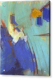 Summit Acrylic Print by Ethel Vrana