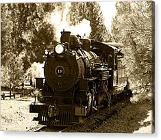 Sumpter Rr Engine 19 Acrylic Print by Nick Kloepping