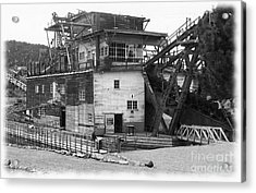 Sumpter Valley Gold Dredge Acrylic Print by Charles Robinson
