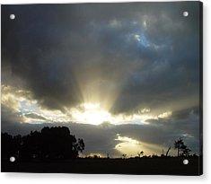 Sun Beams Acrylic Print by Paul Van Scott