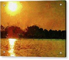 Sun Burned Acrylic Print