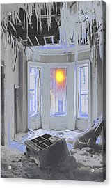 Acrylic Print featuring the photograph Global Freezing by Tom Wurl
