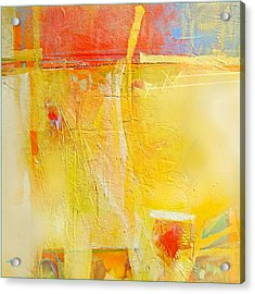 Sun On Wall Acrylic Print by Dale  Witherow