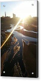 Sun Ray Acrylic Print by David Alvarez