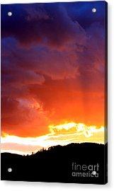 Sun Rays Acrylic Print by Nick Gustafson