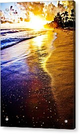 Sun Sand And Symphony Acrylic Print by Anthony Rego
