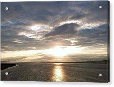 Sun Set On The Humber Acrylic Print