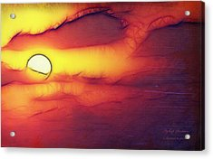 Sun Stand Thou Still Upon Gibeon Acrylic Print by Itzhak Richter