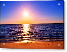 Acrylic Print featuring the photograph Sunburst by Kelly Reber