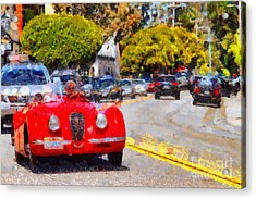 Sunday Drive . 7d15939 Acrylic Print by Wingsdomain Art and Photography