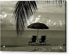 Sunday Morning In Key West Acrylic Print by Susanne Van Hulst