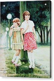Sunday Treat Acrylic Print by Hanne Lore Koehler